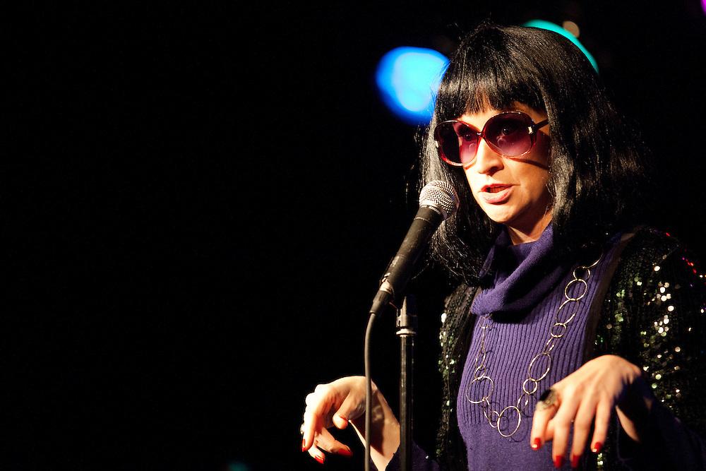 Selena Coppock as Linda Richman - Schtick or Treat 2013 - Littlefield, Brooklyn - October 27, 2013