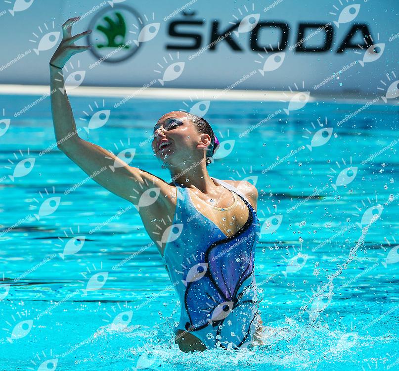 FEDERICA Sala Sincro Seregno<br /> Finale Solo<br /> Roma 6 - 8 giugno, Campionato Assoluto Estivo di nuoto sincronizzato<br /> <br /> PHOTO by R.Pannunzi/Deepbluemedia.eu