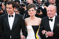 Clive Owen, Marion Cotillard, James Caan,.at the Blood Ties film gala screening at the Cannes Film Festival Monday 20th May 2013