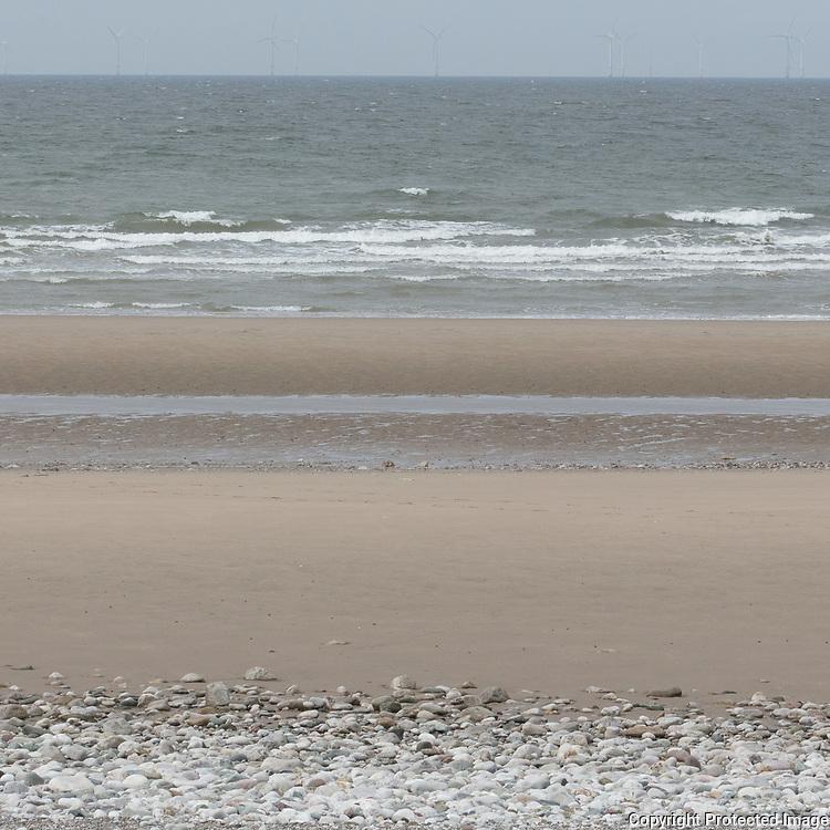 Kinmel Bay seascape II, Conwy.