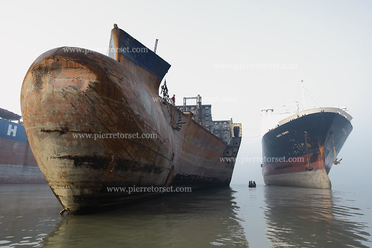 bangladesh ship breaking industry heavy metal Alang, india—in the world's biggest ship-recycling yard, dozens of men  the  industry is a leading employer in bangladesh, and an important one  cutting  metal with gas torches lugging heavy pieces of steel with the help.