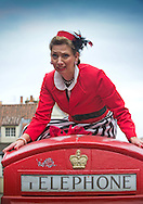 Edinburgh Festival Fringe Photocalls. 1st August 2014.<br /> <br /> Celeste's Circus - A Charming Show for 0-5's<br /> <br /> Photograph by Alex Hewitt<br /> alex.hewitt@gmail.com<br /> 07789 871540