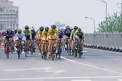 Pushing the pace - Tour of Chongming Island 2016 - Stage 1. A 139.8km road race on Chongming Island, China on May 6th 2016.