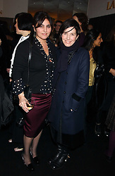 Left to right, designer SOLANGE AZAGURY-PARTRIDGE and singer SHARLEEN SPITERI at a party to celebrate The World of Alber Elbaz for Lanvin at Harvey Nichols, Knightsbridge, London on 1st February 2006.<br /><br />NON EXCLUSIVE - WORLD RIGHTS