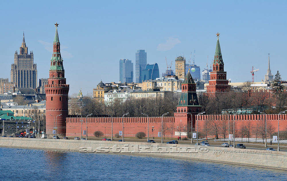 Moscow new and old.