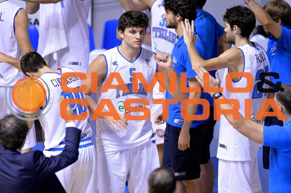 DESCRIZIONE : Cagliari Qualificazione Eurobasket 2015 Qualifying Round Eurobasket 2015 Italia Russia Italy Russia<br /> GIOCATORE : Alessandro Gentile<br /> CATEGORIA : Presentazione<br /> EVENTO : Cagliari Qualificazione Eurobasket 2015 Qualifying Round Eurobasket 2015 Italia Russia Italy Russia<br /> GARA : Italia Russia Italy Russia<br /> DATA : 24/08/2014<br /> SPORT : Pallacanestro<br /> AUTORE : Agenzia Ciamillo-Castoria/Max.Ceretti<br /> Galleria: Fip Nazionali 2014<br /> Fotonotizia: Cagliari Qualificazione Eurobasket 2015 Qualifying Round Eurobasket 2015 Italia Russia Italy Russia<br /> Predefinita :