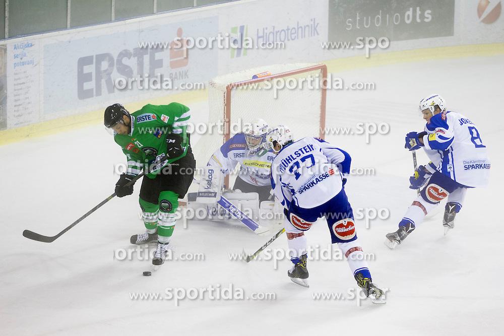 Chris Langkow of HDD Olimpija during the Erste Bank Icehockey League 1st Round between HDD Olimpija Ljubljana and EC VSV, on September 16, 2016, in Hala Tivoli, Ljubljana, Slovenia. Photo by Urban Urbanc / Sportida