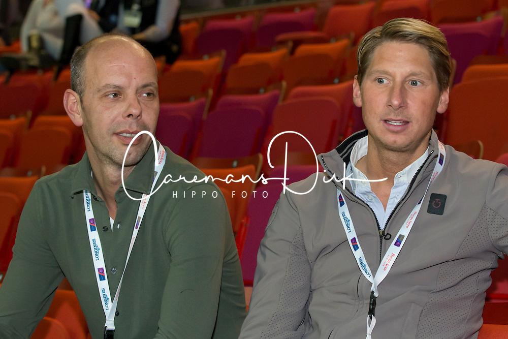 Hans Peter Minderhoud, (NED), Patrick Kittel, (SWE)<br /> Reem Acra FEI World Cup Final Dressage - Goteborg 2016<br /> &copy; Hippo Foto - Dirk Caremans<br /> 26/03/16