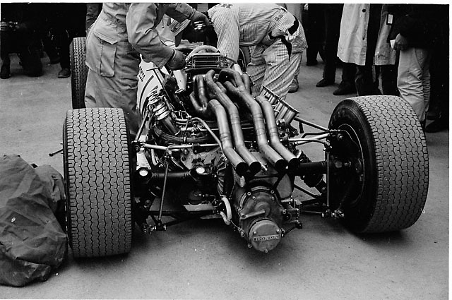 Honda V12 engine, US Grand Prix 1966 Watkins Glen