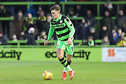 Forest Green Rovers Charlie Cooper(15) on the ball during the EFL Sky Bet League 2 match between Forest Green Rovers and Carlisle United at the New Lawn, Forest Green, United Kingdom on 23 December 2017. Photo by Shane Healey.