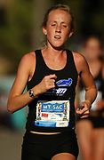 Oct 20, 2006; Walnut, CA, USA; Shelby Buckley of Corona Del Mar places sixth in the girls Division III sweepstakes race in 19:05 over the 2.91-mile course in the 59th Mt. San Antonio College Cross Country Invitational.