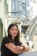 "Hong Kong, Hong Kong SAR,China. <br /> File Image<br /> Refugee Vanessa Mae Rodel<br /> Their story is hinted at in the new Oliver Stone film ""Snowden"" <br />  ©Jayne Russell 14th June 2016"