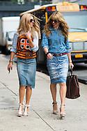 Two Denim Skirts, Outside Tommy Hilfiger Men's SS2015