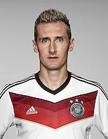 FUSSBALL   PORTRAIT TERMIN DEUTSCHE NATIONALMANNSCHAFT 24.05.2014 Miroslav Klose (Deutschland)