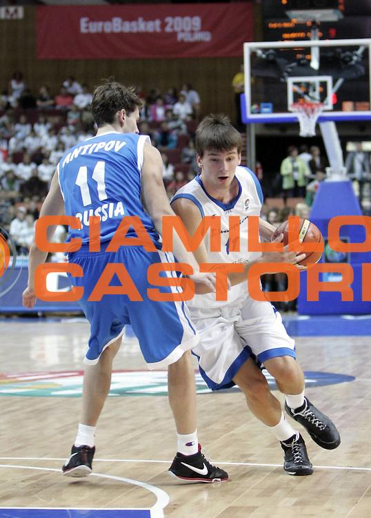DESCRIZIONE : Katowice Poland Polonia Eurobasket Men 2009 Champion U18 All Star Game Team<br /> GIOCATORE : Branislav Dekic<br /> SQUADRA : white team<br /> EVENTO : Eurobasket Men 2009<br /> GARA : Champion U18 All Star Game<br /> DATA : 18/09/2009 <br /> CATEGORIA : <br /> SPORT : Pallacanestro <br /> AUTORE : Agenzia Ciamillo-Castoria/H.Bellenger<br /> Galleria : Eurobasket Men 2009 <br /> Fotonotizia : Katowice Poland Polonia Eurobasket Men 2009 Champion U18 All Star Game Team<br /> Predefinita :