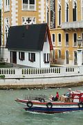 "54th Biennale of Venice..ILLUMInazioni - ILLUMInations.Erwin Wurm, ""Narrow House"", Palazzo Franchetti."