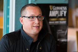 Repro Free: <br /> Pictured here at the Guinness Amplify Music workshop is Joe Clarke, manager of the Strypes and Le Galaxie. The workshops provide access for emerging musicians to industry experts who are on hand to share their insights and tips. For more information log onto www.guinnessamplify.com Picture Andres Poveda