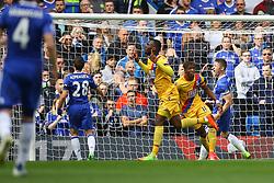 Goal, Christian Benteke of Crystal Palace scores, Chelsea 1-2 Crystal Palace - Mandatory by-line: Jason Brown/JMP - 01/04/2017 - FOOTBALL - Stamford Bridge - London, England - Chelsea v Crystal Palace - Premier League