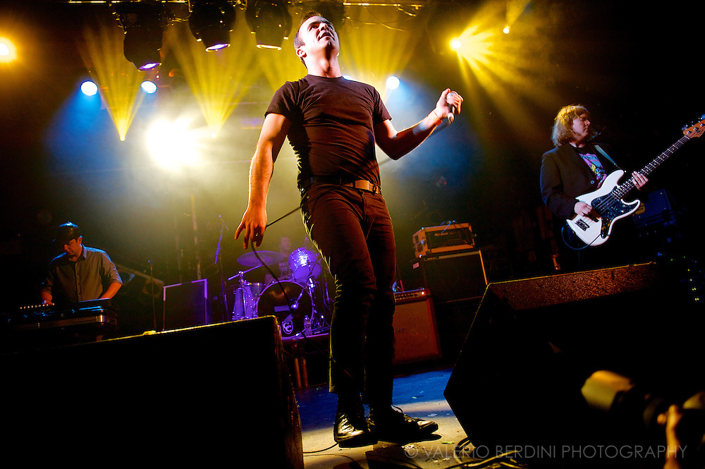 Future Islands playing Electric Ballroom in Camden, London on 7 May 2014 (Ed Schreder's Music Beat and Kristian Harting opening)