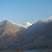 Afghanistan mountains with Pakistan Hindu Kush behind, Wakhan Valley
