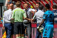UTRECHT - 28-05-2017, FC Utrecht - AZ, Stadion Galgenwaard, AZ trainer John van den Brom, Assistent trainer Dennis Haar