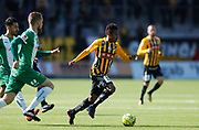 GOTHENBURG, SWEDEN - APRIL 22: Nasiru Mohammed of BK Hacken during the Allsvenskan match between BK Hacken and Hammarby IF at Bravida Arena on April 22, 2018 in Gothenburg, Sweden. Photo by Nils Petter Nilsson/Ombrello ***BETALBILD***