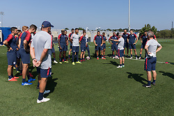 September 3, 2018 - Whippany, NJ, USA - Whippany, NJ - Monday September 3, 2018: The USMNT train in preparation for their match versus Brazil. (Credit Image: © John Dorton/ISIPhotos via ZUMA Wire)