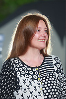 Gerda Stevenson author, appears in Edinburgh International Book Festival talking about her new book called Quines.