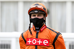Jockey Kevin Lundie - Mandatory by-line: Robbie Stephenson/JMP - 06/08/2020 - HORSE RACING - Bath Racecourse - Bath, England - Bath Races