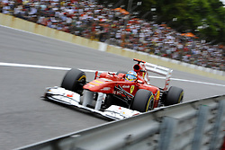 26.11.2011, Autodromo Jose Carlos Pace, Sao Paulo, BRA, F1, Grosser Preis von Brasilien, im Bild Fernando Alonso (ESP), Scuderia Ferrari // during the Formula One Championships 2011 Grand Prix of Brazil held at the Autodromo Jose Carlos Pace, Sao Paulo, Brazil on 2011/11/26. EXPA Pictures © 2011, PhotoCredit: EXPA/ nph/ Dieter Mathis..***** ATTENTION - OUT OF GER, CRO *****