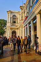 Inde, Delhi, New Delhi, Connaught place dans le centre ville // India, Delhi, New Delhi, Connaught place