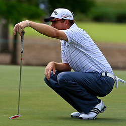 2009 April 26: during the final round of the Zurich Classic of New Orleans PGA Tour golf tournament played at TPC Louisiana in Avondale, Louisiana.