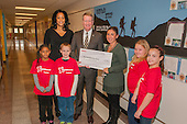 Raytheon - Bakerfield Elementary Donation 12-4-12