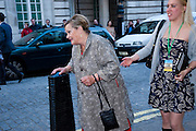 SYLVIA SYMS, Is Anybody /there film premiere. Curzon Mayfair. London. 29 April 2009