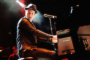 Gavin DeGraw performing at the Pageant in St. Louis on October 11, 2011. © Todd Owyoung.