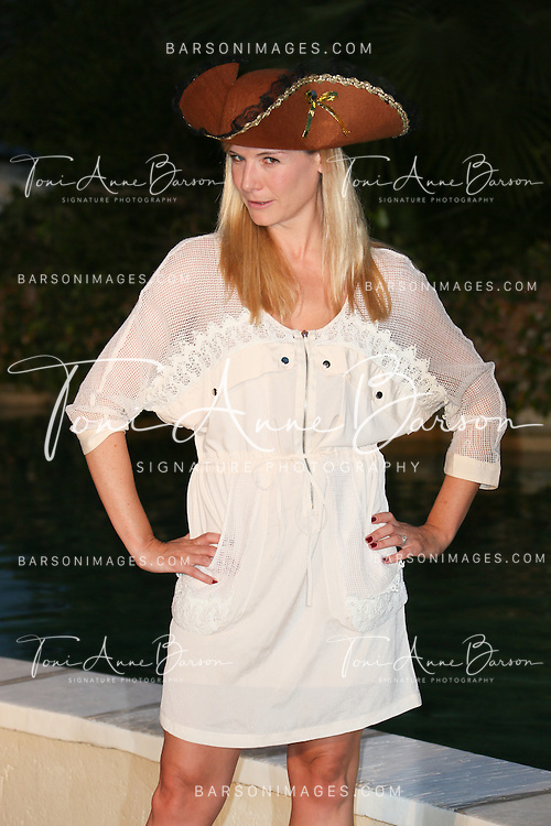 "MONTE-CARLO, MONACO - JUNE 10:  Louise Ekland attends ""Black Sails STARZ"" Party  at the Monte Carlo Bay Hotel on June 10, 2014 in Monte-Carlo, Monaco.  (Photo by Tony Barson/FilmMagic)"