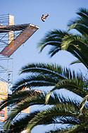 Anatolii Shabotenko UKR<br /> Men's 27m competition<br /> High Diving<br /> 15th FINA World Aquatics Championships<br /> Barcelona 19 July - 4 August 2013<br /> Palau Sant Jordi, Barcelona (Spain) 31/07/2013 <br /> &copy; Giorgio Perottino / Deepbluemedia.eu / Insidefoto