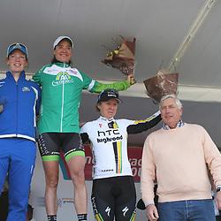 Sprintklassement werd gewonnen door Marianne Vos voor Kirsten Wild en Ina Yoko Teutenberg. De trui werd uitgereikt door Cees Pille van AA drink