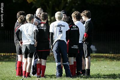 Saracens Master class coaching session at Saracens Amatuers RFC