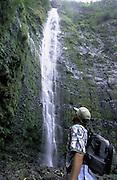 Waimoku Falls, Hana Coast, Maui, Hawaii, USA<br />