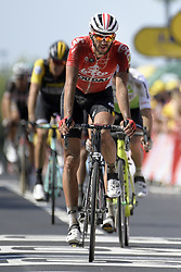 July 15, 2018 - Amiens Metropole, FRANCE - Belgian Jelle Vanendert of Lotto-Soudal pictured during the arrival of the eighth stage of the 105th edition of the Tour de France cycling race, from Arras Citadelle to Roubaix (156,5 km), in France, Sunday 15 July 2018. This year's Tour de France takes place from July 7th to July 29th. BELGA PHOTO YORICK JANSENS (Credit Image: © Yorick Jansens/Belga via ZUMA Press)