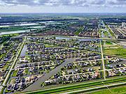 Nederland,Zuid-Holland, Rotterdam; 14–05-2020; stadsdeel Prins Alexander, Vinex-wijk Nesselande. Waterwijk met zelfbouwkavels waarop naar eigen ontwerp en welstandsvrij een woning kan worden gebouwd.<br /> Prince Alexander district, Nesselande neighborhood. Waterwijk with self-build plots .<br /> <br /> luchtfoto (toeslag op standaard tarieven);<br /> aerial photo (additional fee required)<br /> copyright © 2020 foto/photo Siebe Swart