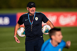 Matjaz Kek head coach of Slovenian national team during practice session of Slovenian national football team in national football center in Brdo, 2nd of September, 2019, NNC Brdo. Photo by Grega Valancic / Sportida