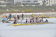 San Diego, California. USA.  Crews boating from the Beach, at the  2013 Crew Classic Regatta, Mission Bay.  12:03:44.  Sunday  07/04/2013   [Mandatory Credit. Peter Spurrier/Intersport Images]  ..