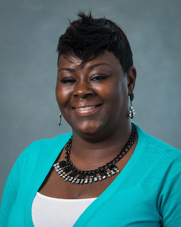 Phinikki Lawrence poses for a photograph during the Professional Learning Series at NRG Center, June 15, 2016.