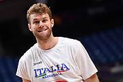 Nicolo Melli<br /> Nazionale Italiana Maschile Senior<br /> Eurobasket 2017 - Group Phase<br /> Israele Italia Israel Italy<br /> FIP 2017<br /> Tel Aviv, 31/08/2017<br /> Foto M.Ceretti / Ciamillo - Castoria