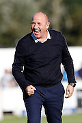 Accrington Stanley Manager  John Coleman during the EFL Sky Bet League 2 match between Accrington Stanley and Portsmouth at the Fraser Eagle Stadium, Accrington, England on 17 September 2016. Photo by Craig Galloway.