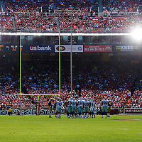 General Field view during an NFL football game between the Dallas Cowboys and the San Francisco 49ers at Candlestick Park on Sunday, Sept. 18, 2011 in San Francisco, CA.  (Photo/Alex Menendez)