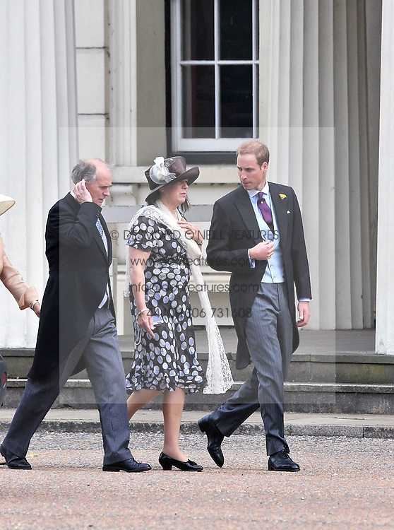 HRH PRINCE WILLIAM at the wedding of Nicholas Van Cutsem to Alice Hadden-Paton at The Guards Chapel, Wellington Barracks, London on 14th August 2009.