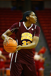 15 March 2012:  Brandie Baker during a first round WNIT basketball game between the Central Michigan Chippewas and the Illinois Sate Redbirds at Redbird Arena in Normal IL